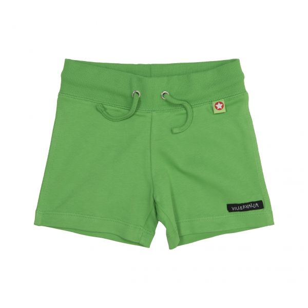 VILLERVALLA Soft tricot shorts AVOCADO