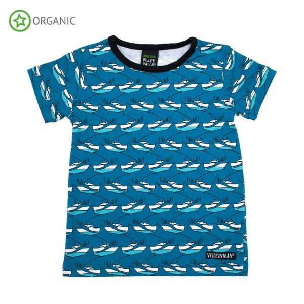 Villervalla kurzärmliges T-shirt shark