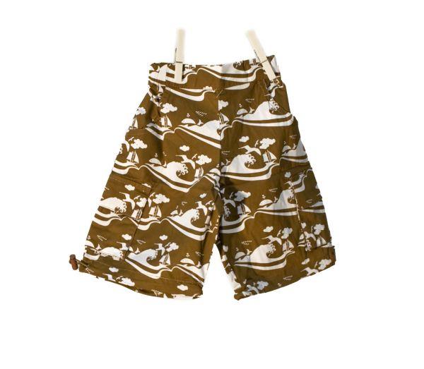 Snoozy Skate Shorts - Brown Sea