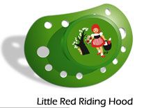 Pacifier - Little Red Riding Hood