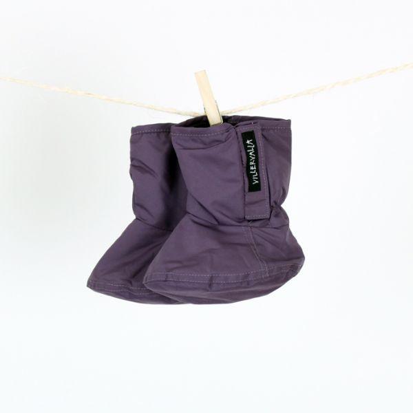 VILLERVALLA Winterschuh WINTER BOOTIE - DRK VIOLET - One size