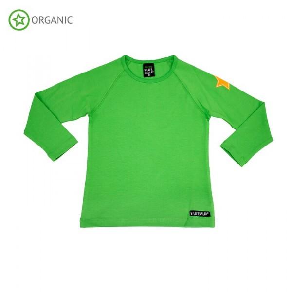 Villervalla langärmliges T-shirt pea