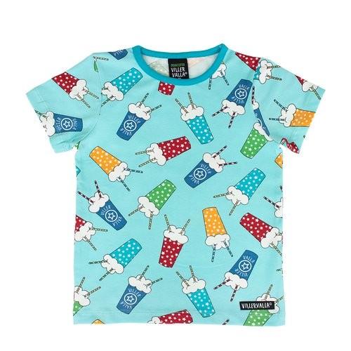 Villervalla Kurzarm Tshirt Milkshake lgt reef