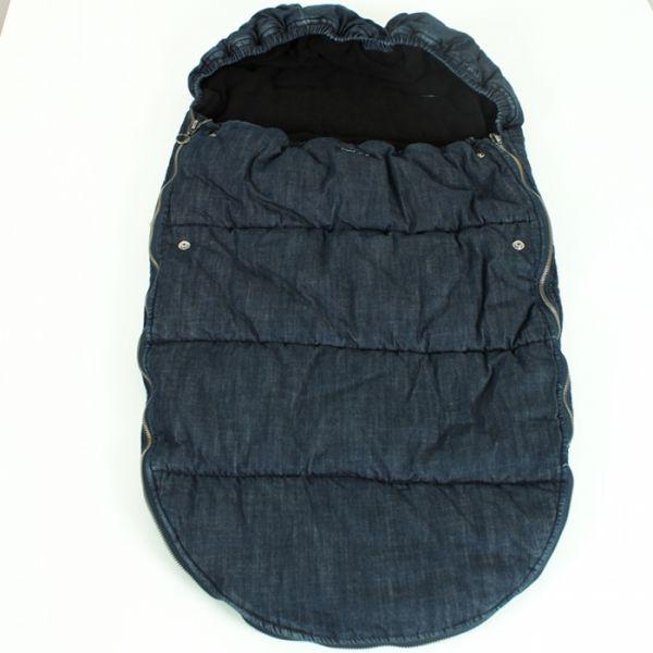 VILLERVALLA Kinderwagensack Jeans BUGGY BAG - DARK DENIM - One size