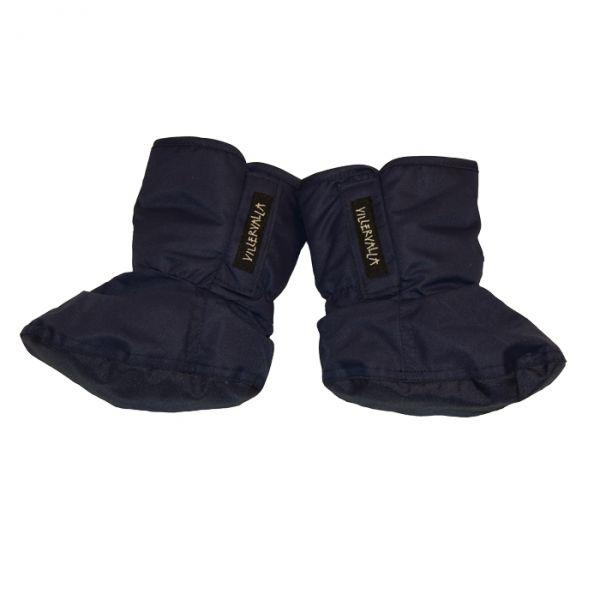 VILLERVALLA winter bootie SOLID DRK BLUEBERRY