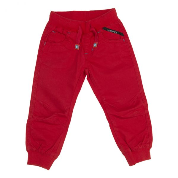 VILLERVALLA Canvas pants CORAL