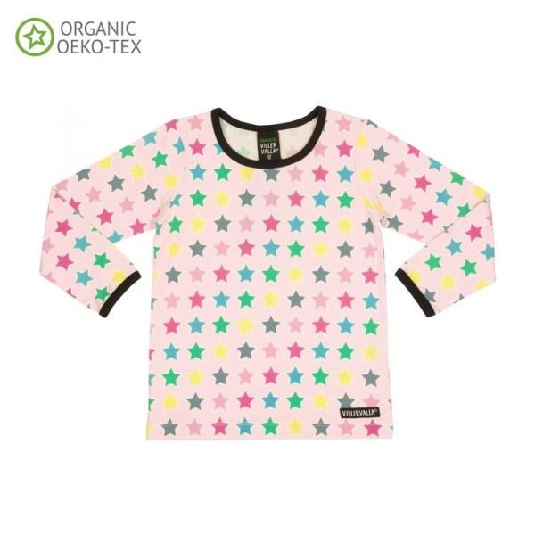 Villervalla langärmliges T-shirt rose