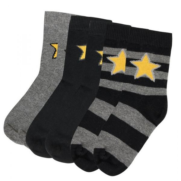Villervalla Socken Set night/grey melange