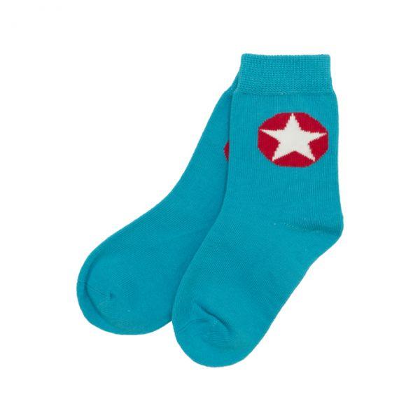 VILLERVALLA Socks Sky