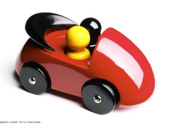 streamliner cab, red