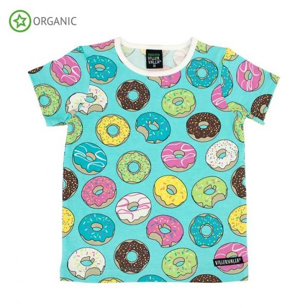 Villervalla kurzärmliges T-shirt lgt reef