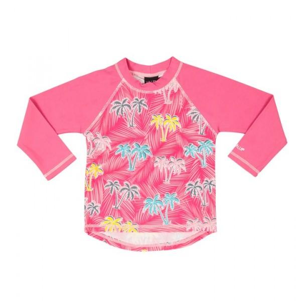 Villervalla UV-T-shirt flamingo zum Baden in der Sonne, Schutzfaktor 50+