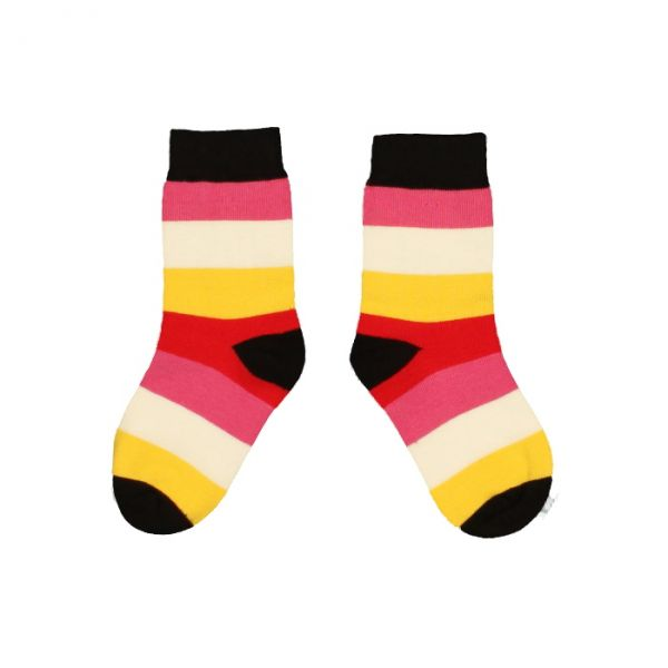 VILLERVALLA socks CHERRY MULTISTRIPE