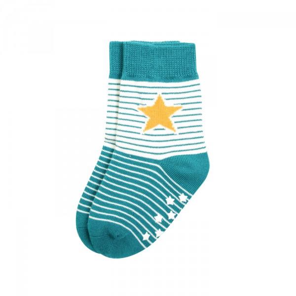 Villervalla Socken mit Stopper lake